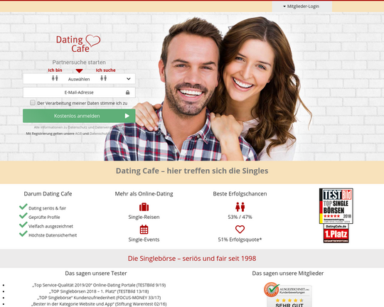 Datingcafe Login
